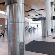 Column Cover – Winnipeg Airport