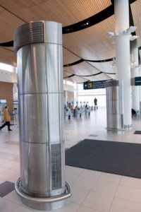 Column Cover - Winnipeg Airport